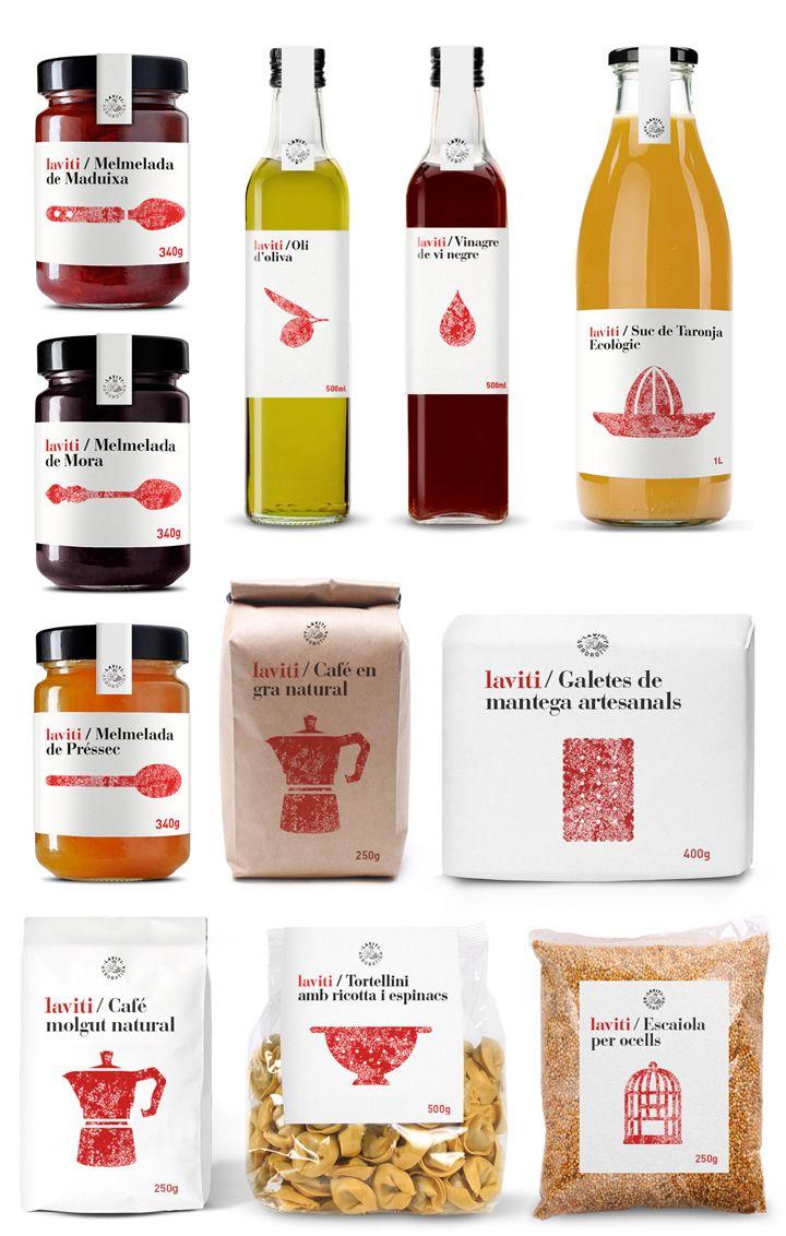 LaViti branding and packaging by Enric Aguilera Asociados » Retail Design Blog
