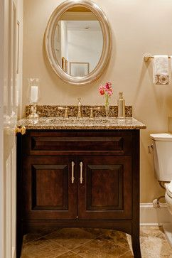 Powder rooms tile framed mirrors and powder on pinterest