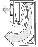 Back (Rear) Loaded Horn Loudspeaker Enclosure