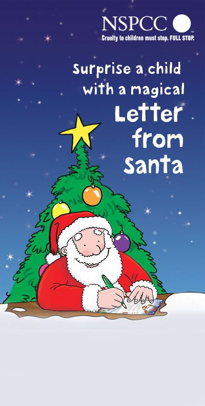 33 best nspcc letter from santa images on pinterest letter from the perfect start to a magical christmas create your letter from santa in 4 easy steps spiritdancerdesigns Image collections