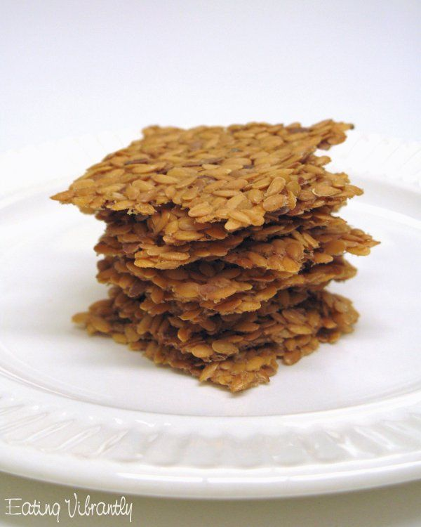 Eating Vibrantly: Raw vegan flaxseed crackers – simple, fast, healthy and versatile