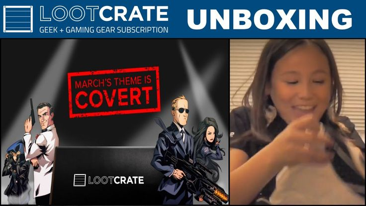 Loot Crate March 2015 - Covert
