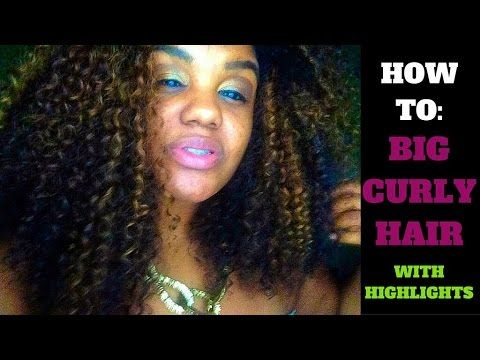 How To: Highlight Curly Hair