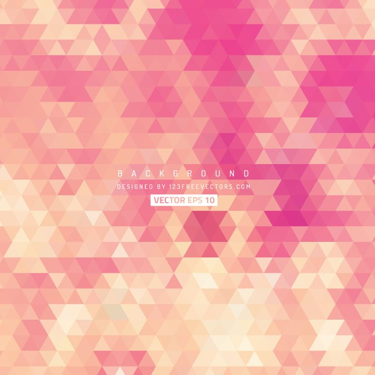 Pink Triangle Background  - https://www.123freevectors.com/pink-triangle-background/