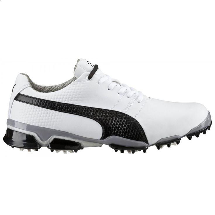 Golf Shoes - Puma Titantour Ignite 188656-03 White/Black Mens Golf Shoe from Golf  Ski Warehouse