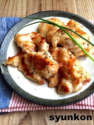 【簡単!!おすすめ】鶏むね肉で*やみつきやわらか塩だれチキン | 山本ゆりオフィシャルブログ「含み笑いのカフェごはん『syunkon』」Powered by Ameba