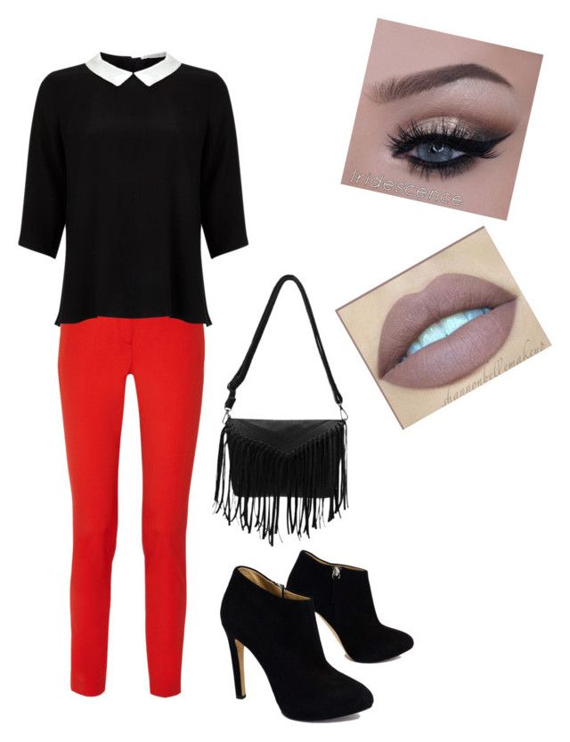 """""""Semi-Formal Outfit"""" by jenna071502 ❤ liked on Polyvore featuring Michael Kors, Lipsy and Giuseppe Zanotti"""