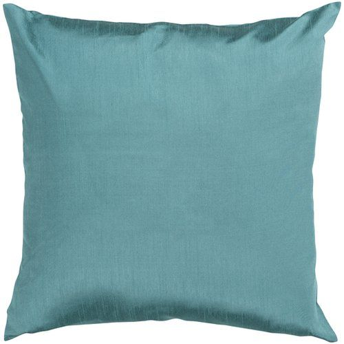 Found it at Wayfair - Appley Solid Luxe Synthetic Throw Pillow