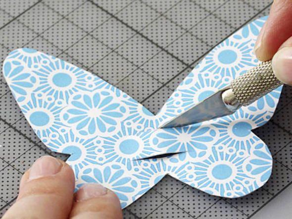 Schmetterling-Deko, Schritt 4: