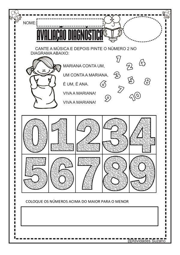 Avaliacao Diagnostica De Volta As Aulas Em 2020 Com Imagens
