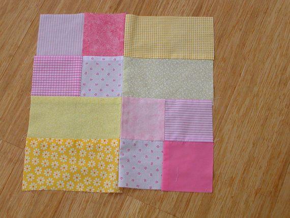 Pdf Pattern Quartered Square Block Super Easy 16 Inch
