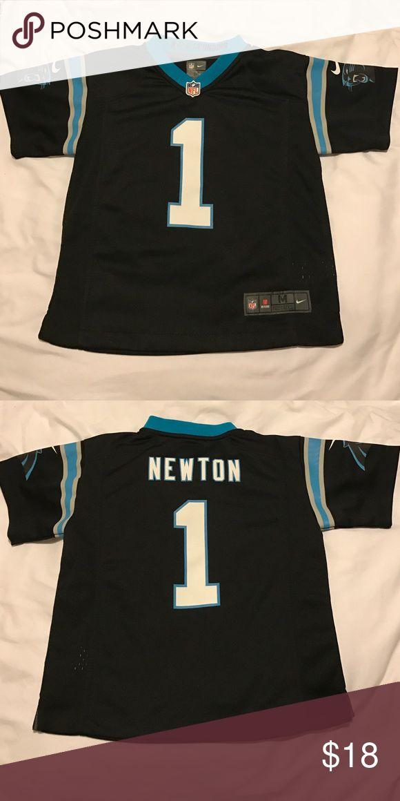 Nike Carolina Panthers Cam Newton jersey Like new Cam Newton jersey. Kids 5/6. Sorry no trades. Thanks for shopping ! Nike Shirts & Tops
