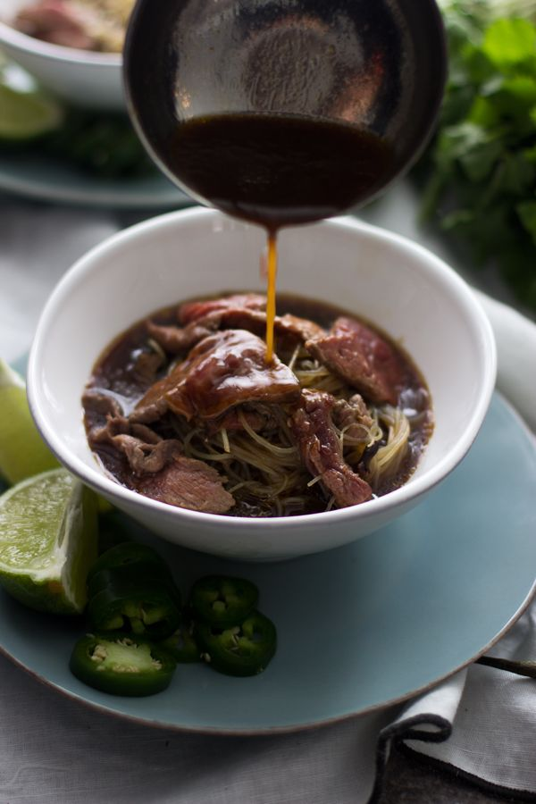 Cheater Vietnamese Pho (Pho Bo) - Quick and super easy!