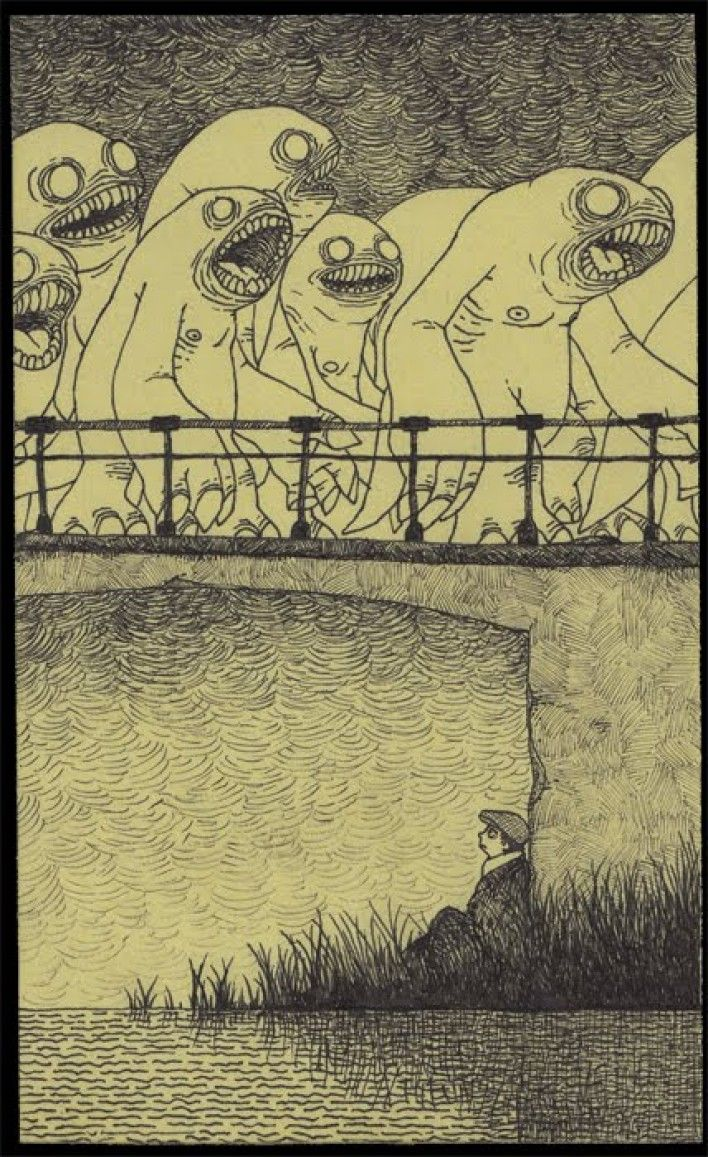 33.....Artist Don Kenn opens a window to a different world when he draws monsters on post it notes.