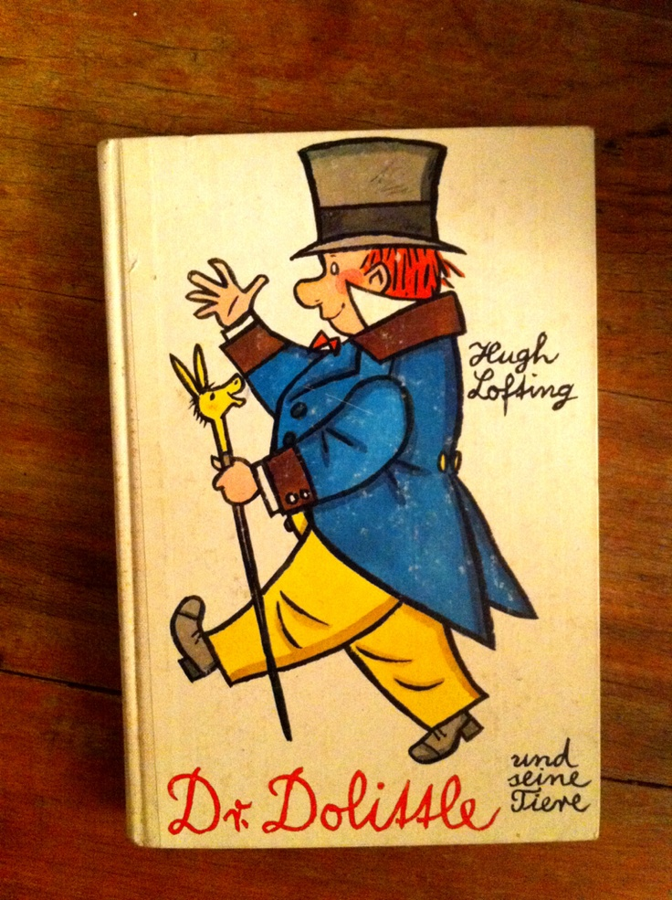 dr. doodlittle Book Cover , my daughter is a Big fan of it. its just a wonderfull story and a great cover.