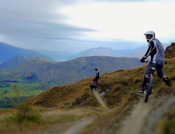 Bike laps lower Coronet with Shay Bro