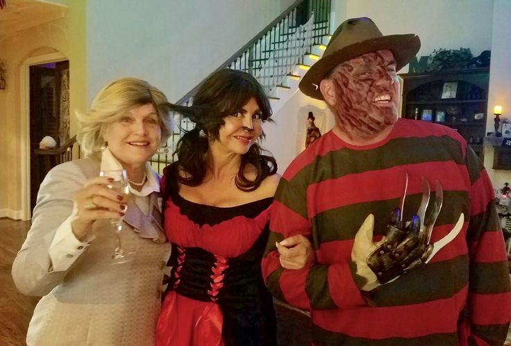 Between Hillary, The Wolf of Red Riding Hood and Freddy...not sure who wins the scariest award!
