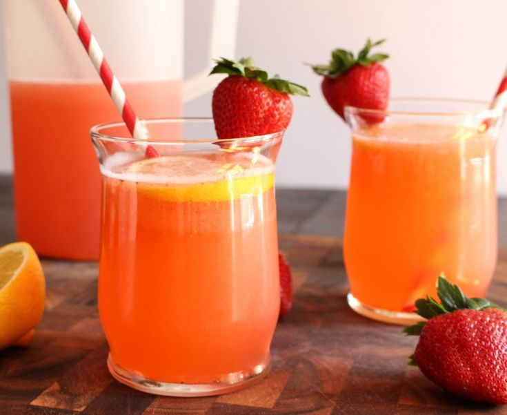 Sparkling Strawberry-Basil Lemonade   Yes to Yolks