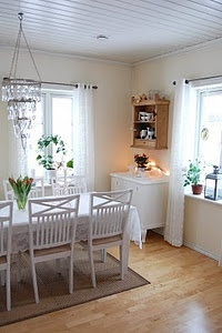 Love The Lace Curtains Silje Sin Dining RoomsLace