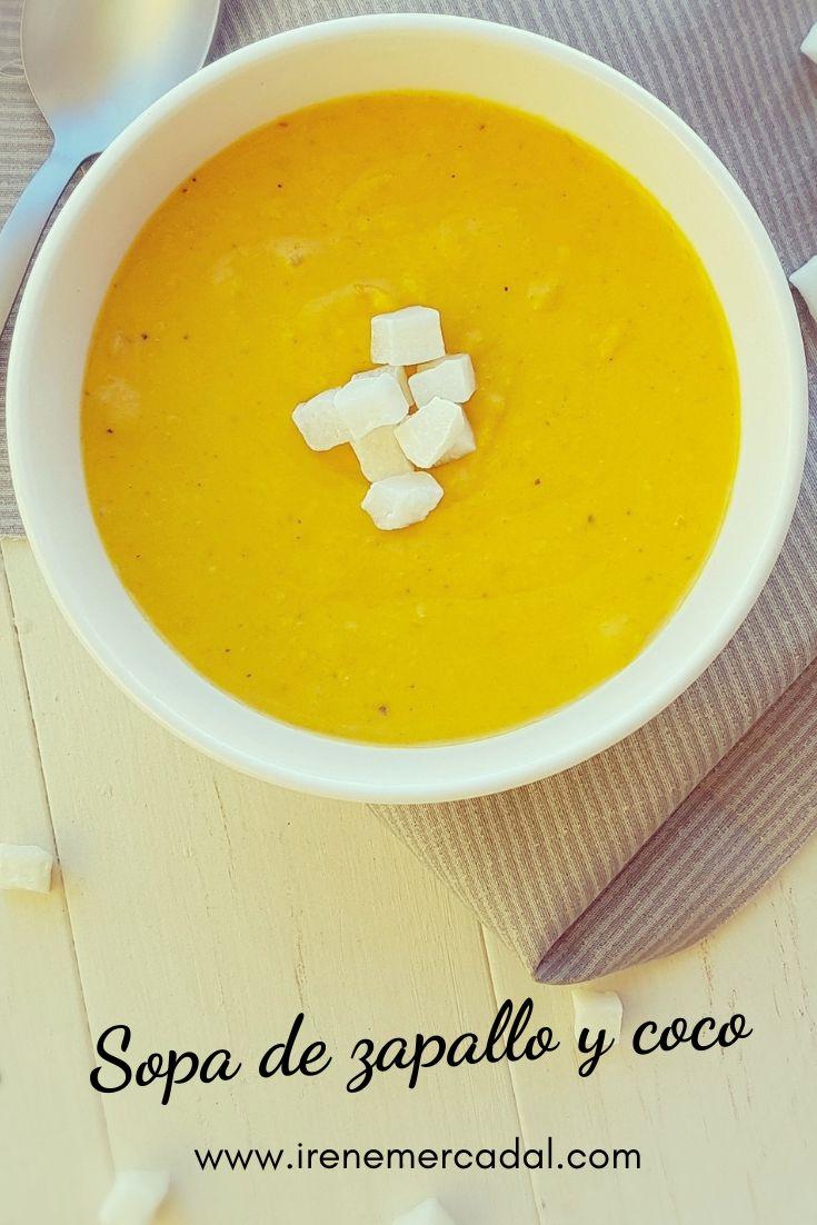 Esta sopa de zapallo y coco es tan deliciosa y fácil que no podrás creerlo ¿Quieres ver la receta?  #sopazapallo #sopacalabazaycoco #calabazaycoco Irene, Cheeseburger Chowder, Cantaloupe, Fruit, Mini, Recipes, Food, Gourmet, Spinach Soup