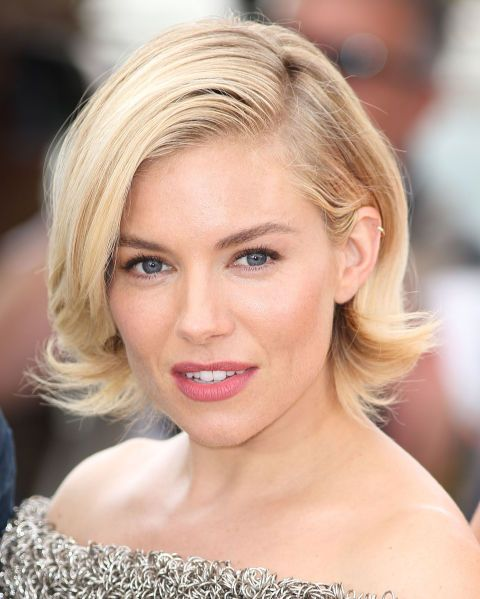 Every time we grow our hair out we see Sienna Miller's bob and immediately we want to chop it all off again.