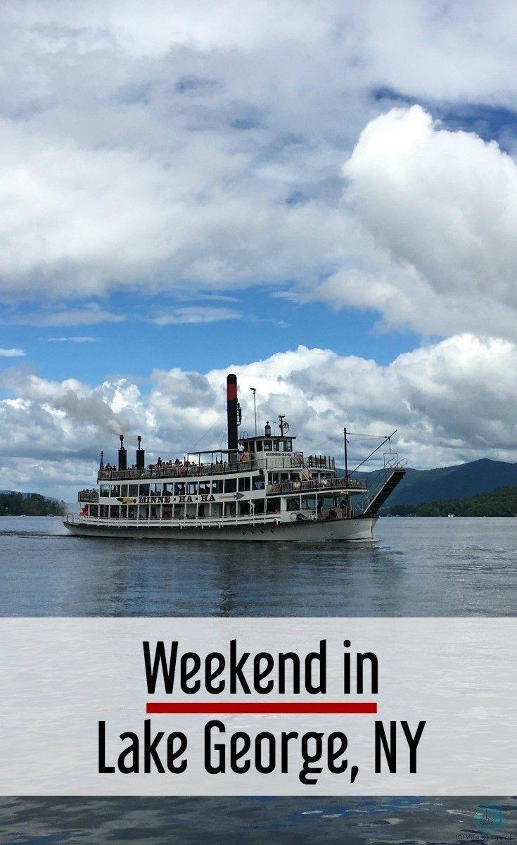 Weekend in lake george new york