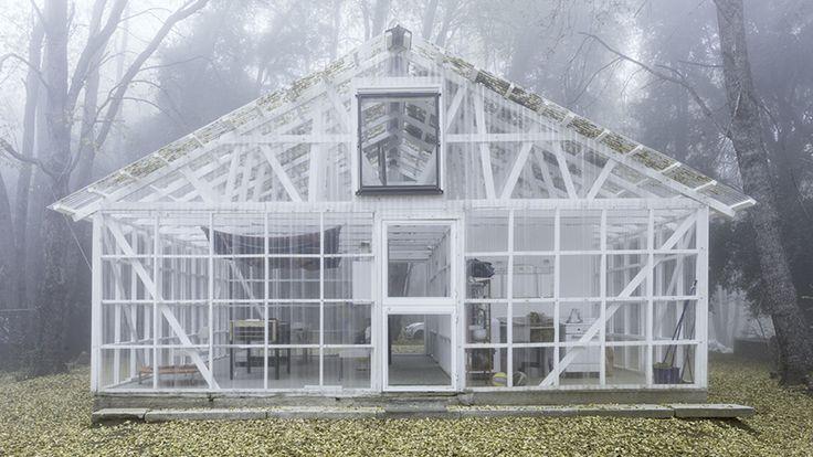 casa transparente, Vilches, Chile. Smiljan Radic