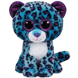 TY Beanie Boo Plush - Lizzie the Leopard 15cm (Exclusive rare) | eBay