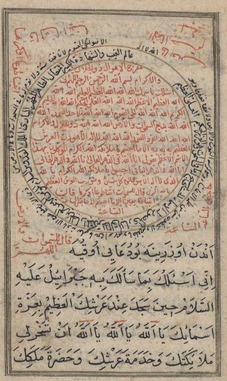 Occult Manuscript-Talisman-Ahmad ibn 'Ali al-Buni