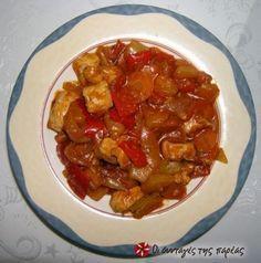 Αυθεντικό χοιρινό γλυκόξυνο με ανανά