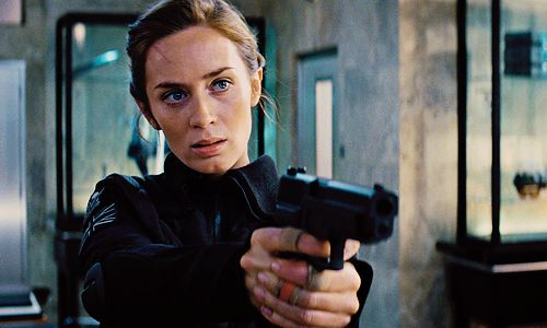 Edge of Tomorrow - Emily Blunt as Rita Vrataski. She is perfection.