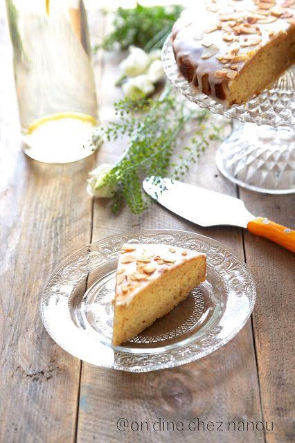 Gâteau au citron et aux amandes JAmie Oliver