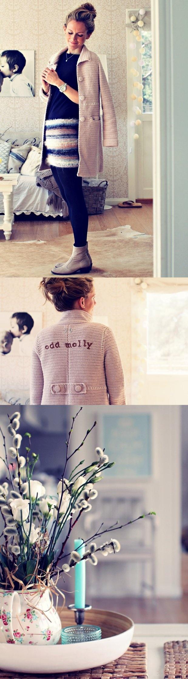 Odd Molly sweater coat...so cute! Kalastajan vaimo - ME NAISET