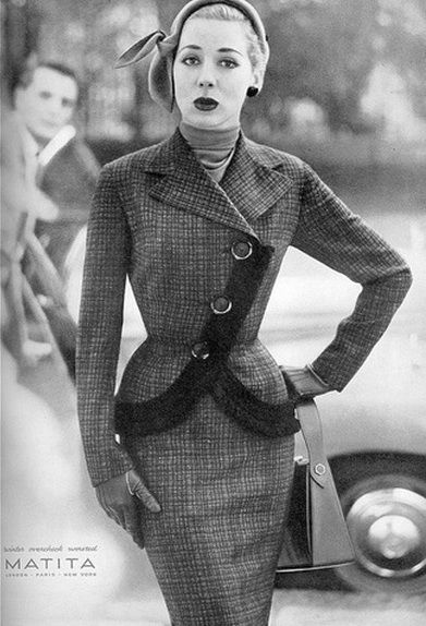 1954.  Incredible lines on this suit!