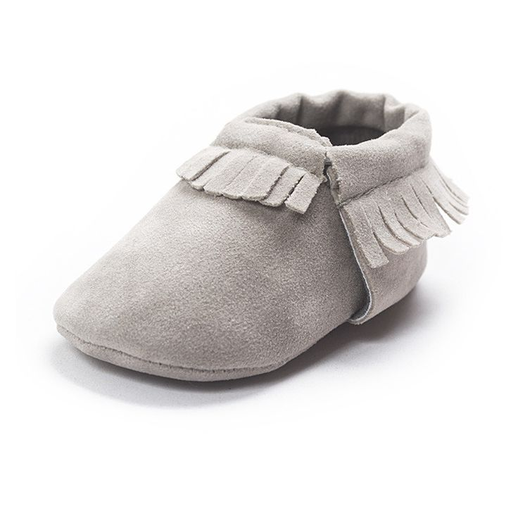 2016 New Suede pu leather Newborn Baby Infant Toddler shoes baby Moccasins Soft Mocc Bebe Soft Sole Non-slip Prewalker Shoes