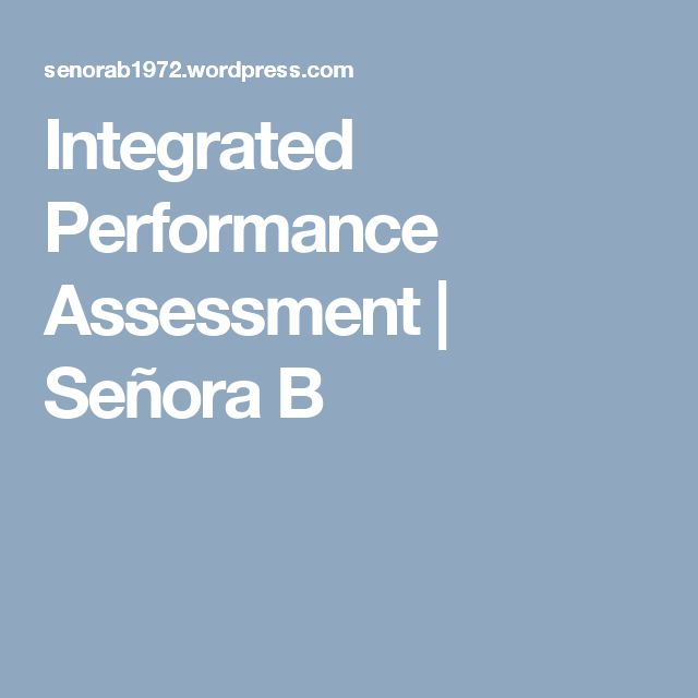 52 best proficiency \ IPAs images on Pinterest Spanish classroom - performance assessment