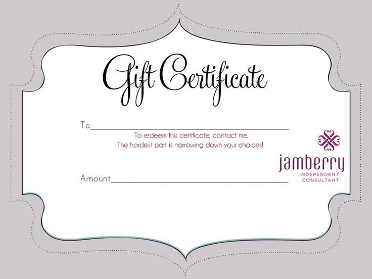 Best 25+ Jamberry gift ideas on Pinterest Jamberry nails - printable christmas gift certificate