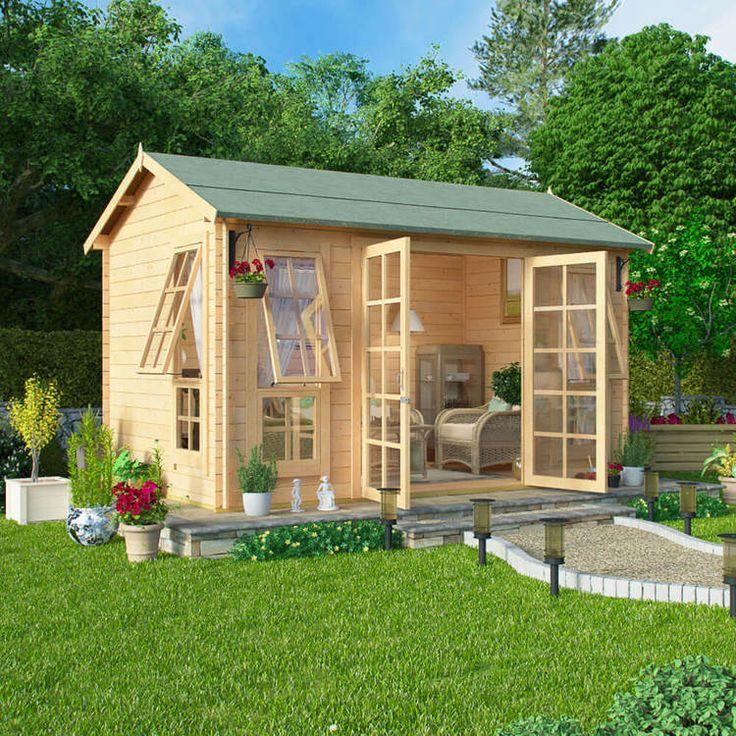 17 Best Images About Sheds Carports On Pinterest: 17 Best Images About Log Cabins On Pinterest