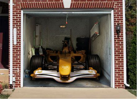 3d door murals garage door2 spice up your family life - Garage door vinyl wrap ...