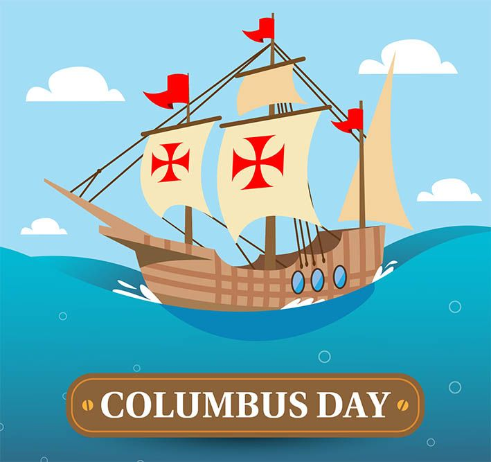 Columbus Day In The United States Columbusday Happycolumbusday Columbus Day Happy Columbus Day Kids Patterns