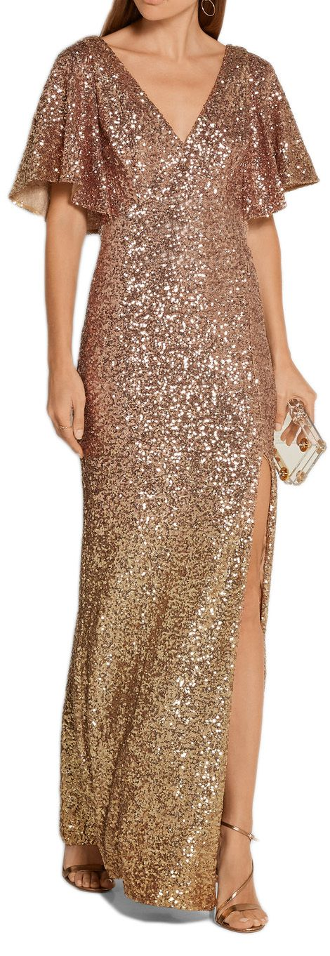Gold Evening Gown #macloth