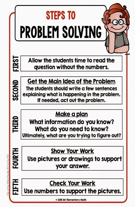 Looking for a strategy to help students solve math word problems?  Check out this post. Included you will find 2 FREE math problem solving templates and a Steps to Problem Solving reference sheet.