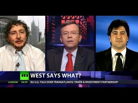 "CrossTalk: Who is 'International Community'? | What does the term ""international community"" mean? Is it a cover for the Washington Consensus agreeing with the Washington Consensus? Where does the rest of the world fit in? And, if a country is not in support of the Washington Consensus is it automatically a suspected enemy of the West? CrossTalking with George Szamuely and Majid Rafizadeh."