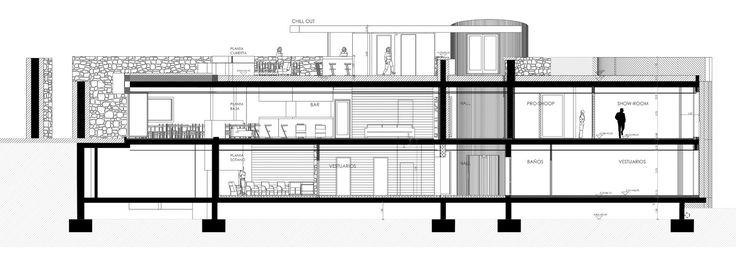 Galería de Club de Golf La Graiera / BC Estudio Architects - 22