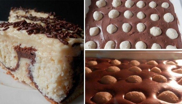 Vyzkoušejte si připravit jemný zákusek s kokosovými kuličkami. Sami se přesvědčte o lahodné chuti.