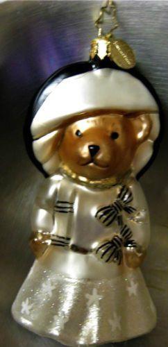 Christopher-Radko-t-034-MUFFY-MY-FAIR-LADY-034-Ornament-1015677-New-in-Box-2010