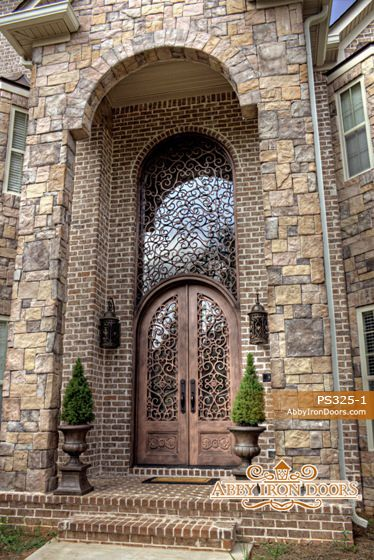 BEAUTIFUL IRON FRONT DOOR I WANT FOR MY HOME