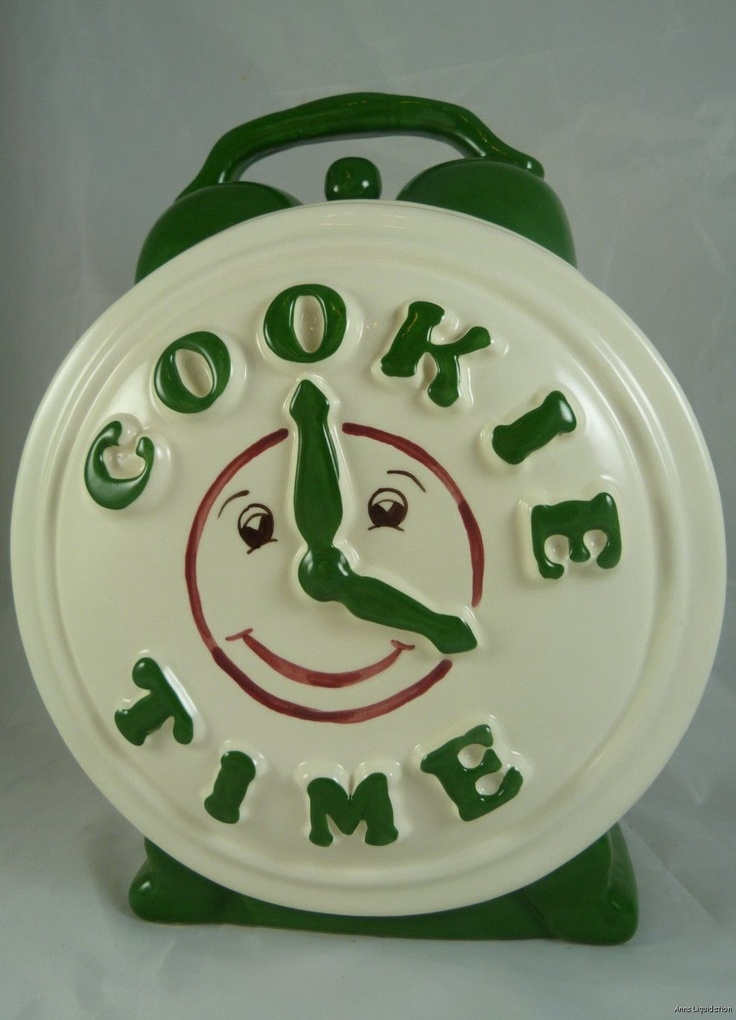 Cookie Time Cookie Jar Treasure Craft