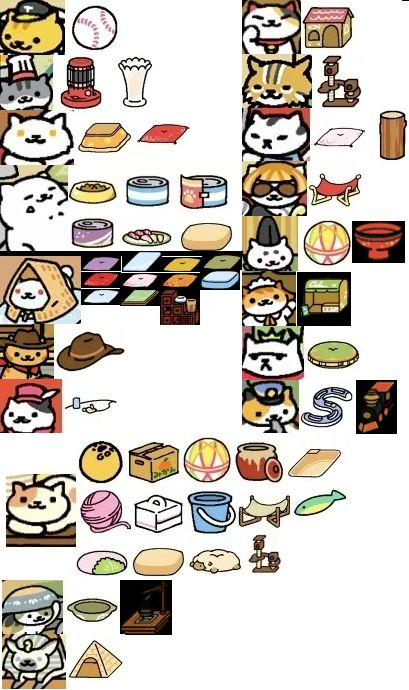 Neko Atsume what Rare Cats and Peaches are attracted to. Cat Collector