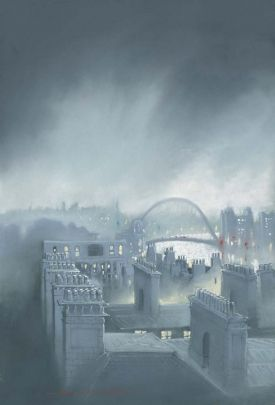 Tyne Early Morning From his collection of new original pastels and limited edition prints    Format:  Paper Giclee print on Breathing Colour Elegance Velvet Paper 310gsm    Print size: 47 x 32cm